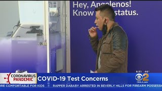 FDA Alert Says COVID-19 Test Used By City Of LA Could Produce False Negatives