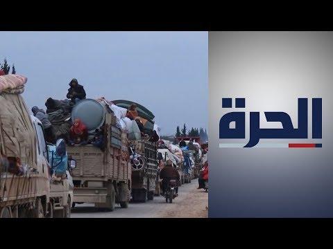 سوريا.. استمرار القصف في إدلب يتسبب بارتفاع عدد النازحين  - 18:59-2020 / 2 / 13