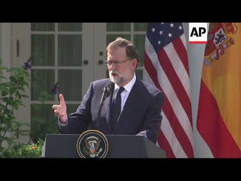 Rajoy: Catalan vote wrong; Trump: Spain should stay united