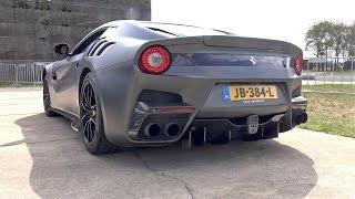 SOUND CHECK: Ferrari F12 TDF - BRUTAL SOUNDS!
