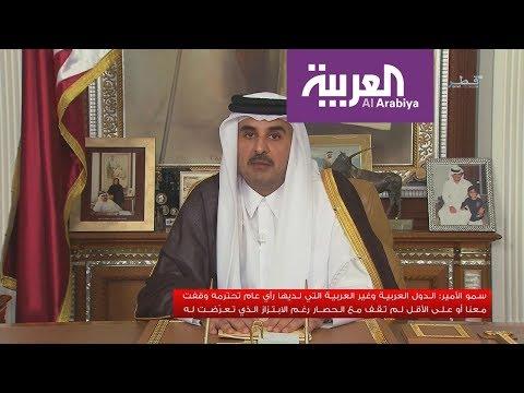أمير قطر: نحن نملك تعددية سياسية مثل الدول الغربية