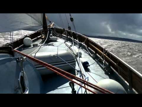 Lugger sailing yacht