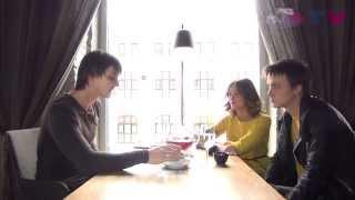 Tea-TIME, Выпуск №19: Ярослав Жалнин и Элона Жалнина в кафе Кабуки