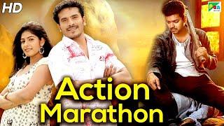 Sunday Special | New Action Hindi Dubbed Movies Marathon | Khakhi Aur Khiladi, Shanti Kranti