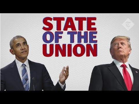 State of the Union: how Donald Trump's America compares with Barack Obama's