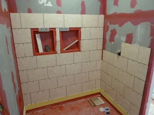 part 1 how to install tile on shower