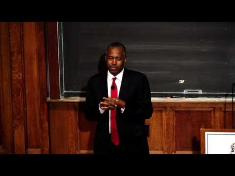 "Dr. Ben Carson on ""The Value of Common Sense"""