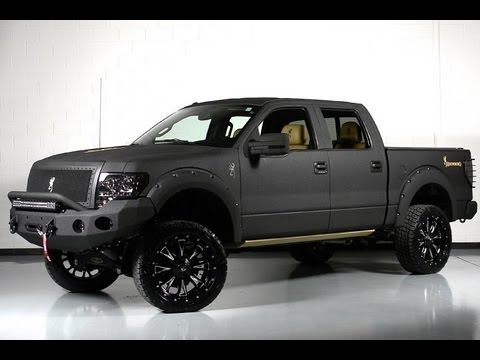 2013 ford f150 limited custom browning lifted truck for sale youtube