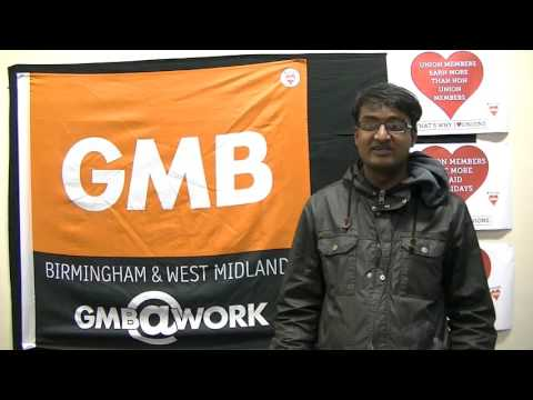 Daniel - GMB Representative Care Sector