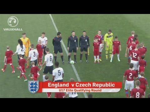 CZECH REPUBLIC VS ENGLAND 0-1: Goals and highlights U17s European Championship Qualifying Round