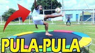 1 TOQUE NO PULA PULA ( CANAL MS2 ) DESAFIOS DE FUTEBOL
