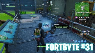 Fortnite Battle Royale ? Fortbyte Challenges How to get the Fortbyte #31