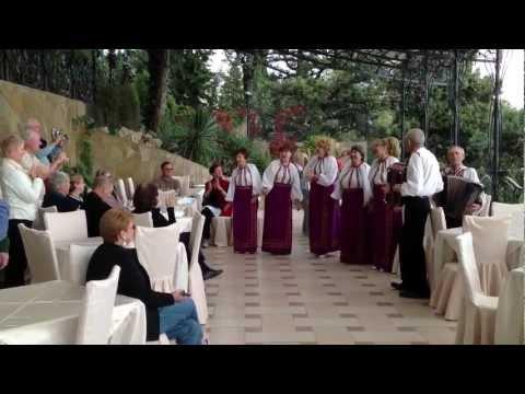 Discovery Cruise Program in Yalta: Ukrainian/Russian Folk Songs for Americans. Swallow's Nest, 2012