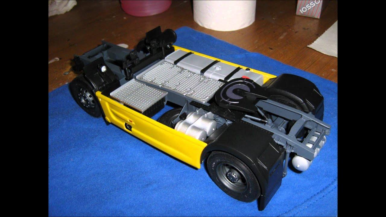 Daf Xf 105 Italeri 1 24 Model Kit Youtube