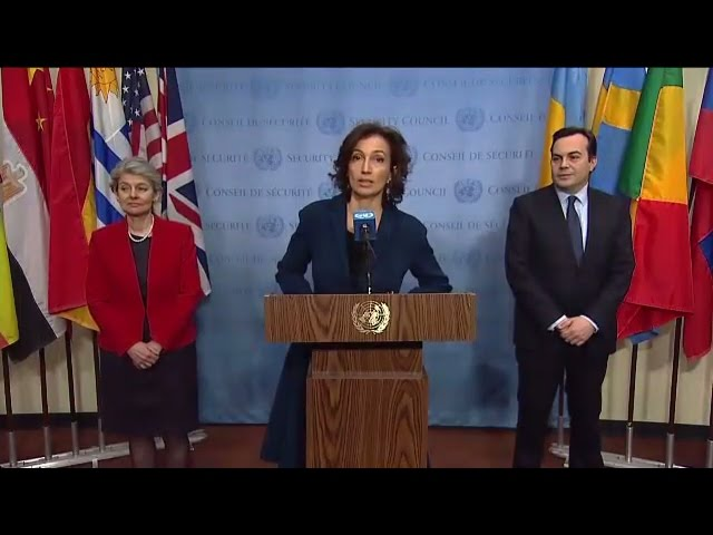 Protection of Cultural Heritage in Armed Conflicts (France, Italy, UNESCO) - SC Media Stakeout