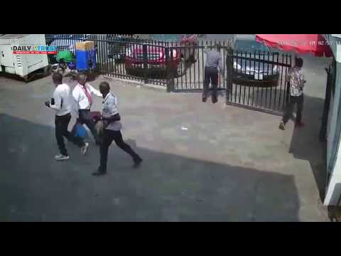 VIRAL VIDEO of What happened at a Nigerian bank