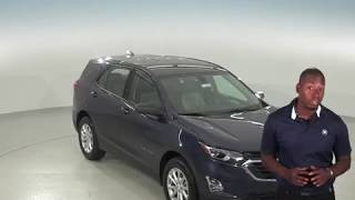 183039 - New, 2018, Chevrolet Equinox, SUV, Blue, Test Drive, Review, For Sale -