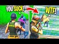 12 Year Old BULLIES Me For Being a Default, Then I DESTROY Him With Renegade Raider (Fortnite)