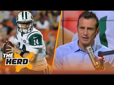 Doug Gottlieb on Darnold's second preseason game, the Patriots win over Philly  NFL  THE HERD