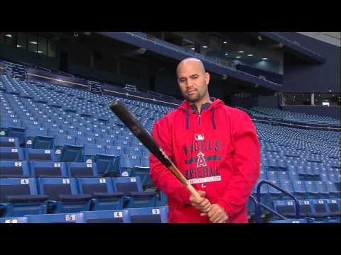 Learn an MLB swing with Angels slugger Albert Pujols