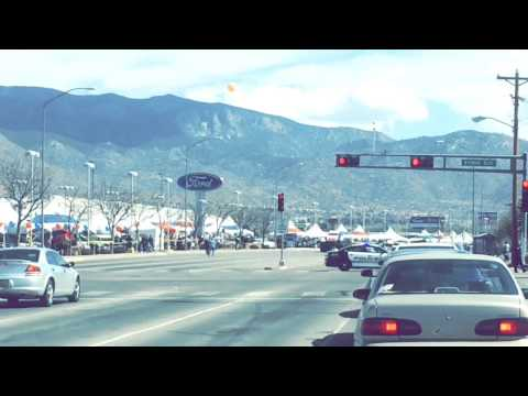 Monster Truck Rampage in Albuquerque New Mexico.