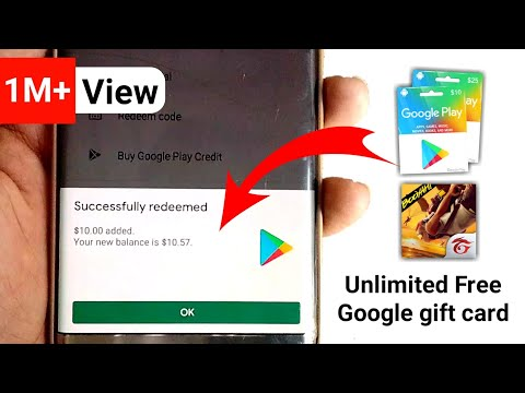 How To Earn Google Gift Card Only 2 Minutes, Best App To Earn Google Play Gift Card