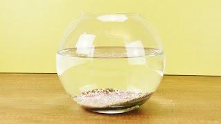 Aquarium einrichten für Kinder | DIY Aquarium zum Spielen | Kathi baut ein DEKO Aquarium (Teil1)