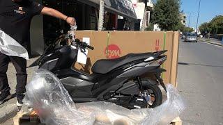 unboxing SYM JETX 125cc scoote…