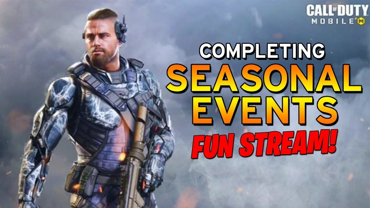 COMPLETING SEASONAL EVENTS! - CALL OF DUTY MOBILE FUN STREAM