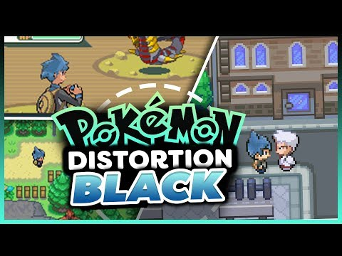 Pokémon Distortion Black - Pokemon Rom Hack Showcase
