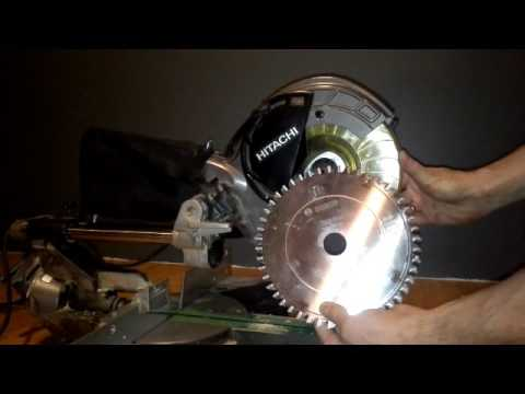 Hitachi c8 fse change saw blade youtube hitachi c8 fse change saw blade greentooth Choice Image