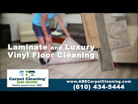 Luxury Vinyl Floor Cleaning | A.B.E Carpet Cleaning and MORE