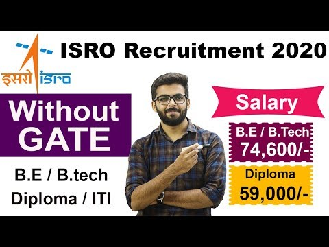 ISRO VSSC Recruitment 2020 | Salary ₹74000 | Without GATE | Latest Jobs 2020