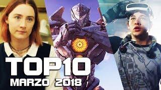 TOP 10 FILM AL CINEMA - MARZO 2018