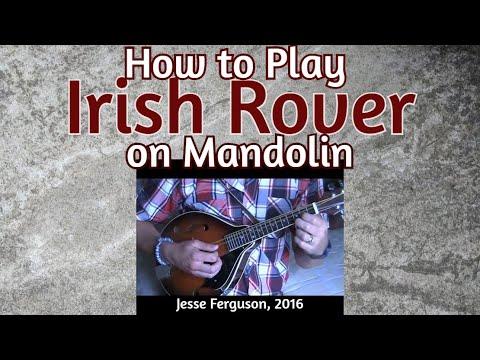 """How to Play """"The Irish Rover"""" (Mandolin)"""