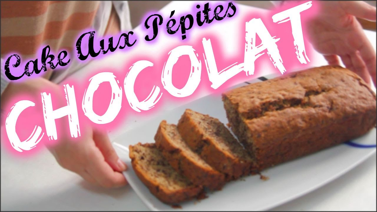 cake aux p pites de chocolat yummy fran ais youtube. Black Bedroom Furniture Sets. Home Design Ideas