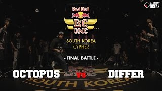 OCTOPUS vs DIFFER / Final Battle / Red Bull BC One South Korea 2015 / Allthatbreak.com