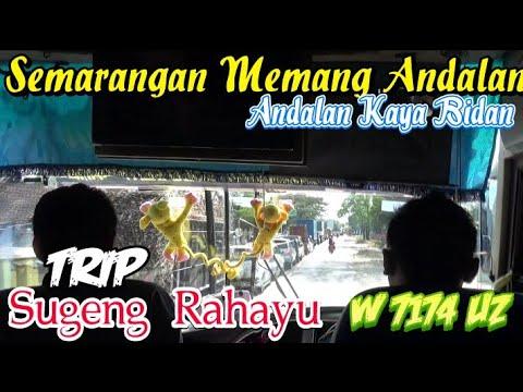 SEMARANGAN MEMANG ANDALAN!! || Trip Sugeng Rahayu W 7174 UZ