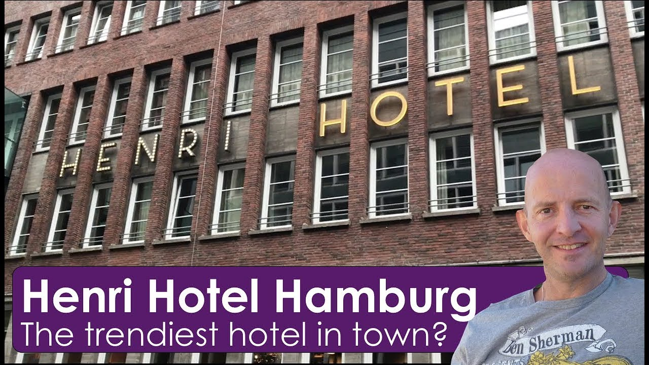 henri hotel hamburg the trendiest hipster hotel in town youtube. Black Bedroom Furniture Sets. Home Design Ideas