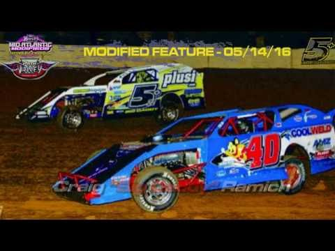 Path Valley Speedway - In-Car Front/Bumper Cameras - Feature May 14, 2016