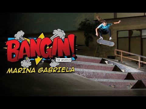 16-Year-Old Brazilian Female Ripper | Marina Gabriela - BANGIN!