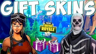 DAS GESCHENKSYSTEM IN FORTNITE - Fortnite Battle Royale Geschenk Skins & Items Release Date Time Frame