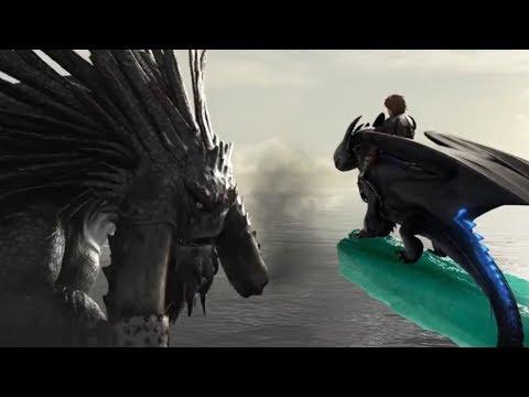 Вожак защитит свой народ   Беззубик против Смутьяна   Как приручить дракона 2