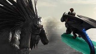 Вожак защитит свой народ | Беззубик против Смутьяна | Как приручить дракона 2