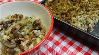 Chicken and Stuffing Casserole Budget Buster Recipe   Bulk Cooking  Noreens Kitchen