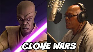 Clone Wars Voice Actors Acting Their Lines