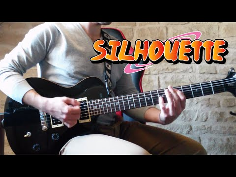 """Naruto Shippuden Opening 16 - KANA-BOON """"Silhouette (シルエット) """" ~Guitar Cover~ [Tabs]"""