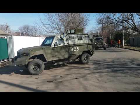 "Ukrainian Border Guard ordered new KrAZ ""Cougar"" armored vehicles"