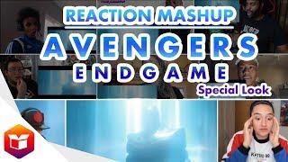 Marvel Studios' Avengers: Endgame | Special Look - Reaction Mashup