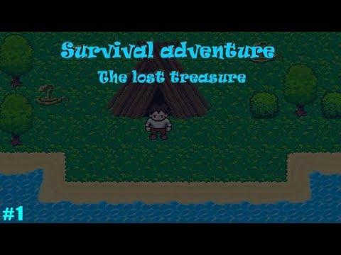 Выживание на Острове Потерянные сокровища обзор #1 Учимся выживать в клёвой 2д песочнице